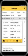 Přehled odeslaných tržeb v aplikaci Mobilní prodejna