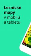 Lesnické mapy v mobilu a tabletu
