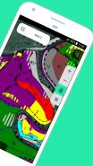 Prohlížení porostní mapy v aplikaci Mobilní mapy
