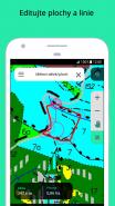 Měření ploch v aplikaci Mobilní mapy